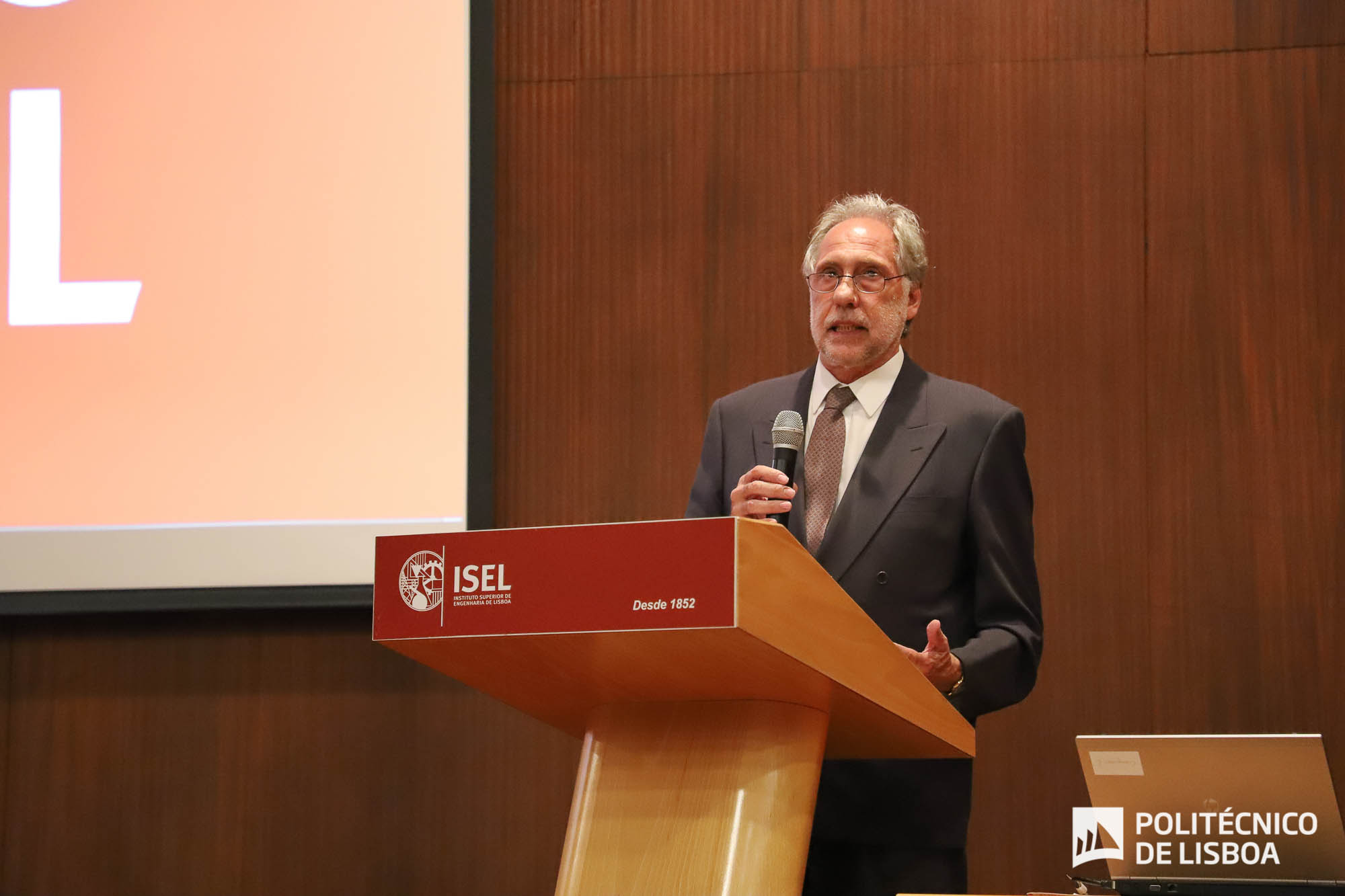 Presidente do IPL, Elmano Margato, no Encontro Alumni ISEL 2018