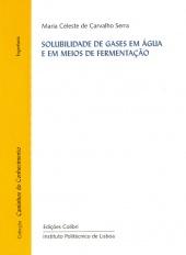 Solubilidade de Gases em Água e em Meios de Fermentação
