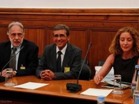 Elmano Margato, Rui Antunes e Rosário Gambôa