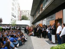 Caloiros  do Iscal visitam serviços da presidência