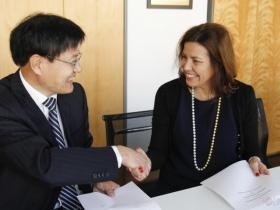Vice presidente do IPL e Presidente da Universidade de Shanong