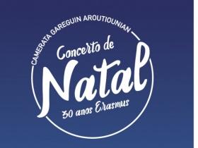 Concerto de Natal Politécnico de Lisboa//30 anos Erasmus//13.12 16h30 Auditório Vianna da Motta - Escola Superior de Música de Lisboa