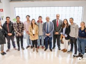 Secretário de Estado do Ensino Superior visita a residência de estudantes do IPL
