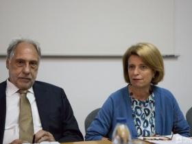 Elmano Margato e Isabel Alçada