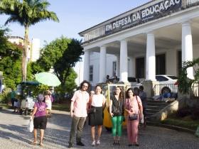 Comitiva do IPL visita Universidade Federal da Bahia