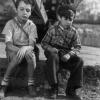 """""""Aniki Bóbó"""" (1942), adaptação de Manoel de Oliveira do conto poético """"Meninos Milionários"""" de João Rodrigues de Freitas (Col. Cinemateca Portuguesa- Museu do Cinema)"""