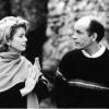 """Os atores estrangeiros Catherine Deneuve e John Malkovich no filme """"O Convento"""" (1995) (Col. Cinemateca Portuguesa- Museu do Cinema)"""