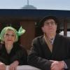 """O casal Oliveira a representar a história em """"Cristóvão Colombo- o Enigma"""" (2007) (Col. Cinemateca Portuguesa- Museu do Cinema)"""