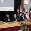 Presidentes do ISCAL e do IPL e Bruno Fragueiro