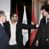 Presidente do IPL, Bruno Fragueiro, antigo presidente FNAEESP e estudante Jose Castela