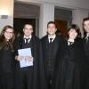 Daniel Monteiro e alguns estudantes
